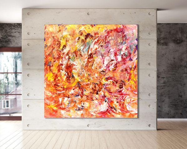 Number 78 - Abstract Expressionism by Estelle Asmodelle