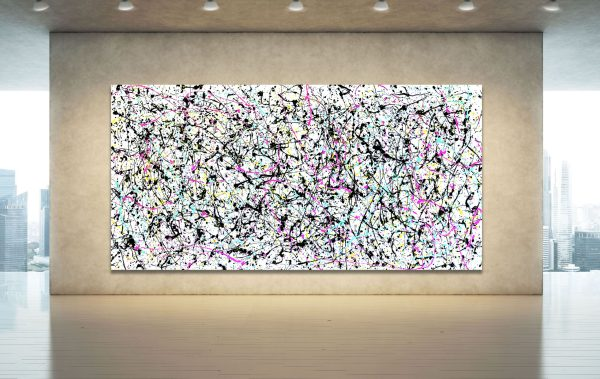 Post Pollack - Abstract Expressionism by Estelle Asmodelle