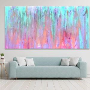 Pastel Inferno - Abstract Expressionism by Estelle Asmodelle