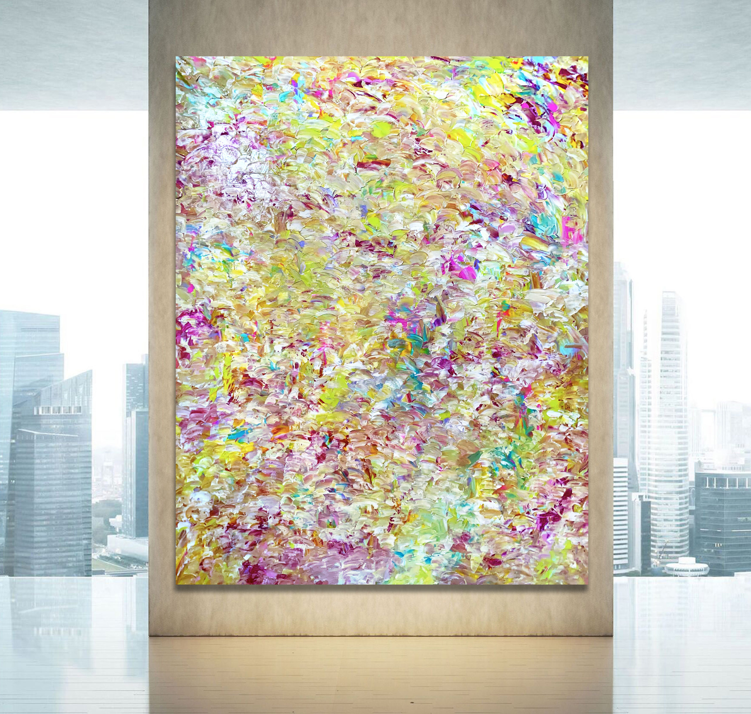 Another Life - Abstract Expressionism by Estelle Asmodelle