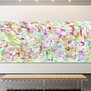 Pastel Harvest - Abstract Expressionism by Estelle Asmodelle