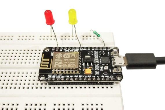 Blink External LED Using NodeMCU ESp8266