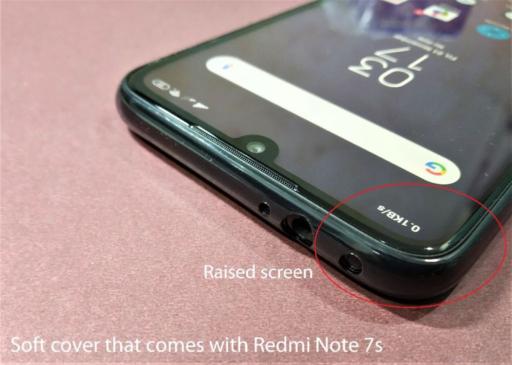 Issues in Redmi Note 7 or 7s or 7 pro Orignial Cover