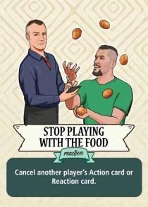 Churrascaria Action card art