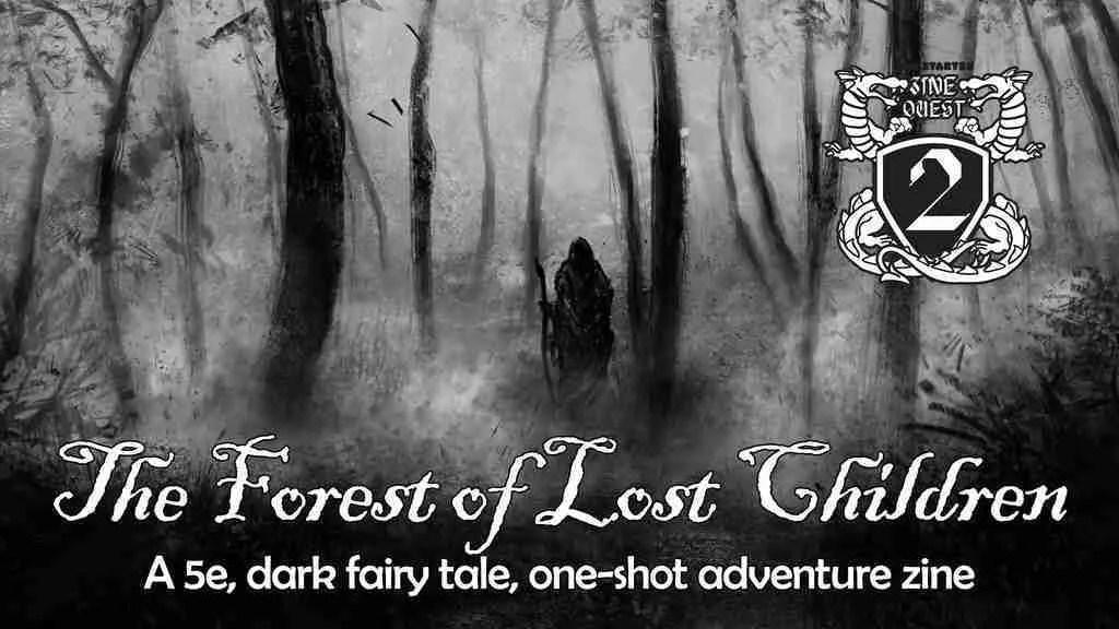 Forest of Lost Children Zine Update