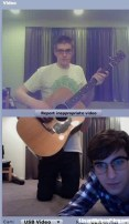 Duo alla chitarra - Chatroulette