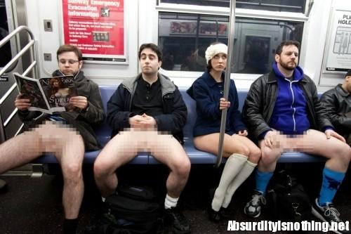 No underwear Day