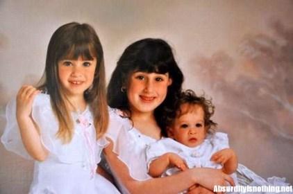 Brooke Greenberg con le sorelle