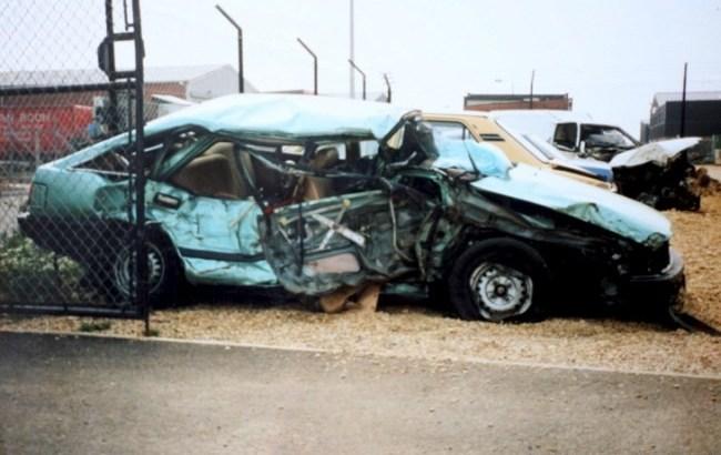 Michelle Philipots - Ogni giorno perde la memoria - L'auto dell'incidente
