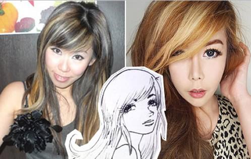10 operazioni per assomigliare a un personaggio manga