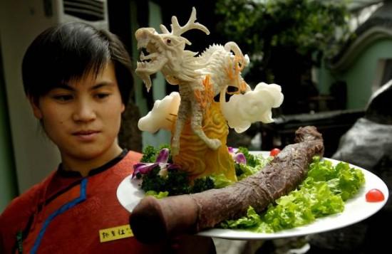 Guolizhuang, il ristorante che cucina peni di ogni tipo