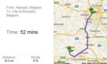 Deve andare a Bruxelles, il navigatore la manda a Zagabria (2)