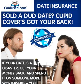 Nuova assicurazione contro i primi appuntamenti da dimenticare