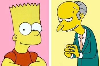 Bart Simpson appare davanti al giudice chiamato Mr Burns (1)