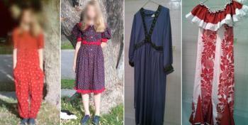 Orrendi vestiti usati come lezione di bullismo