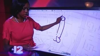 Reporter disegna un pene gigante sulla mappa in diretta TV