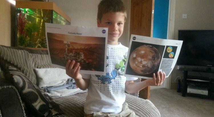 La NASA risponde alla lettera di un bimbo di 7 anni (2)