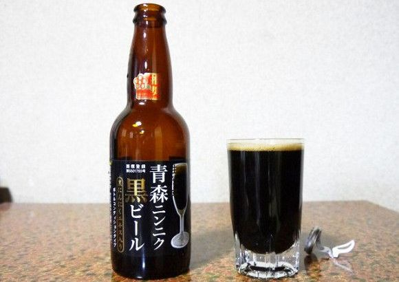 Birra scura all'aglio nero (3)