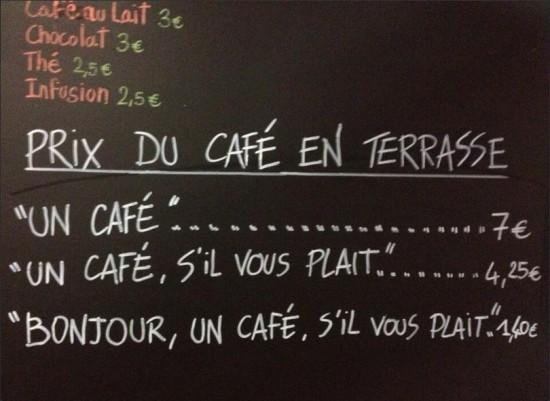 7€ per un caffè ai clienti maleducati in un bar di Nizza (1)