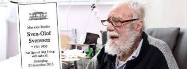 Pensionato svedese legge il suo necrologio sul giornale (1)
