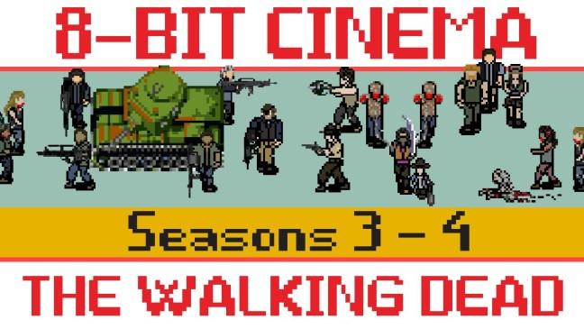 8bit walking dead