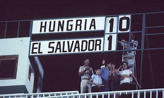 Ungheria - El Salvador - Spagna 1982