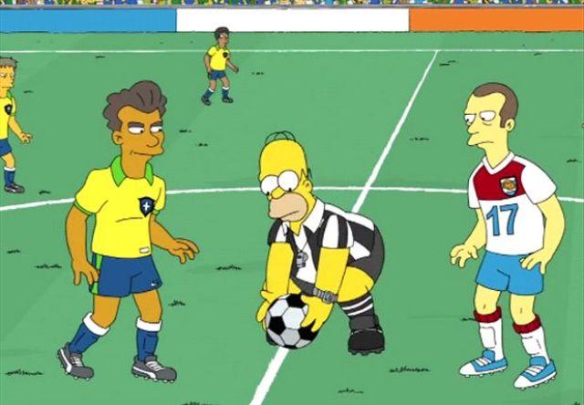 Simpson - Episodio Brasile 2014
