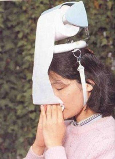 forte raffreddore? Porta carta igienica da testa