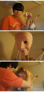 Trasforma la doccia in una bambola (1)