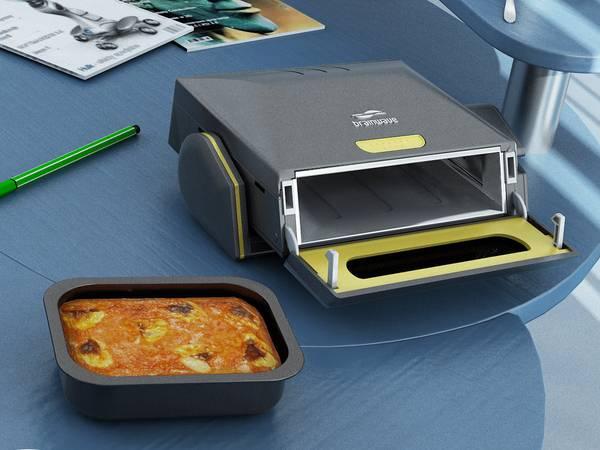 Microonde da scrivania a forma di stampante (2)