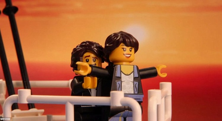 Scene cult del cinema ricreate con i Lego