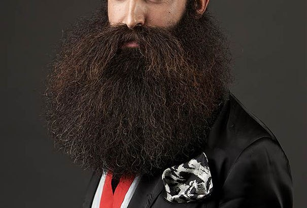 Campione del mondo di barba