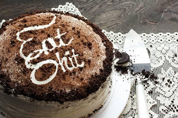 The Bold Bakery torte con insulti