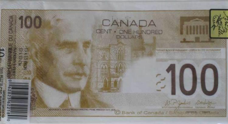 Tenta di riprodurre banconote da $100 con dei tovaglioli di carta