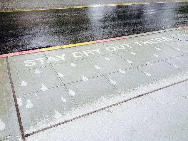 Rainworks, opere d'arte stradali visibili solo sotto la pioggia (4)