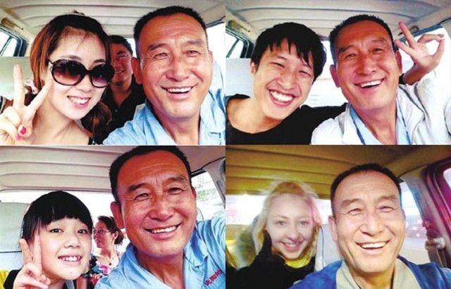 Teng, il simpatico tassista che si fa i selfie con i passeggeri (5)