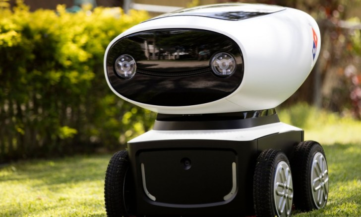 Domino's Robotic Unit, a breve il porta-pizze robot in Australia