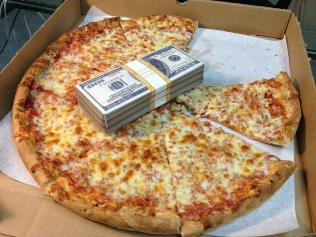 La pizza? È più motivante del denaro
