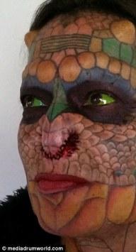 Eva Medusa - La donna transgender diventata un drago 10