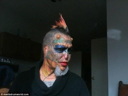 Eva Medusa - La donna transgender diventata un drago 15