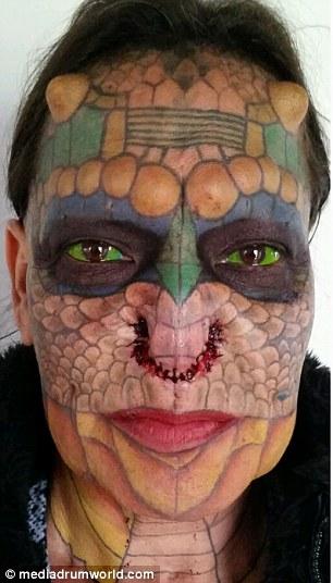 Eva Medusa - La donna transgender diventata un drago 3