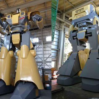 Ingegnere giapponese crea robot pilotabile di 8,5 metri ispirato a Gundam