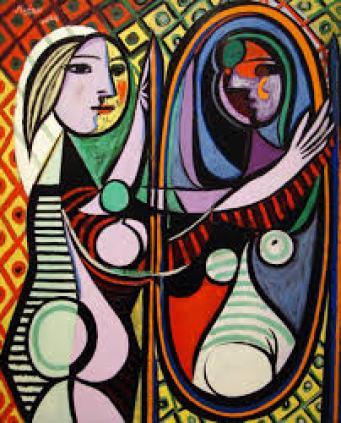 Sanata Başla! » Sanata Yeni Başlayanlara » AYNA KARŞISINDAKİ KIZ ...