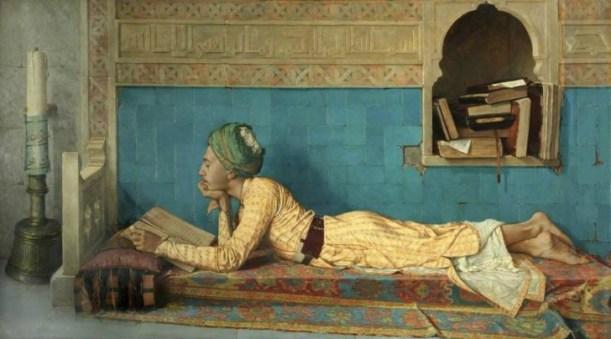 Okuyan Genç Ermiş Osman Hamdi Bey