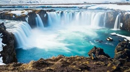 Gullfoss Şelalesi İzlanda absurdizi.com