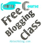 Free Course: Join My Intensive Blogging Class