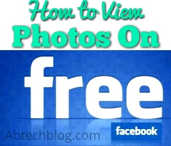 Use This Simple Facebook Trick To View Photos on Free Mode