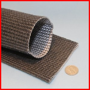 fiberglass braided sleeve exhaust