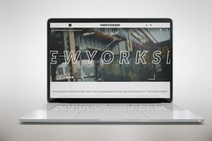 Sample Website Mockup
