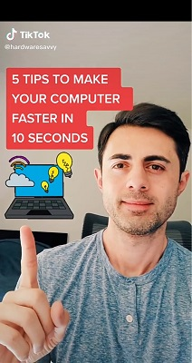 5 Tips to make your PC run faster in 10 seconds